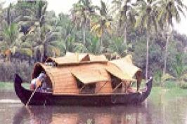 Thiruvananthapuram Backwaters In Kerala