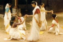 Thiruvathirakali In Kerala